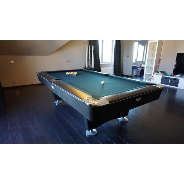 Table de billard 8-pool Buffalo Dominator 8ft noir ou brun NOUVEAU