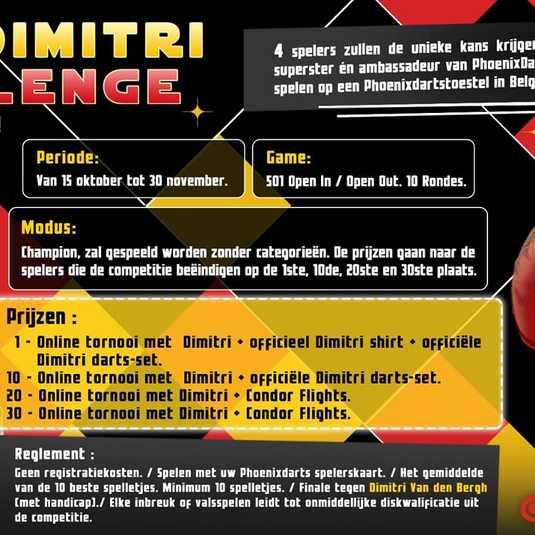 THE DIMITRI CHALLENGE!