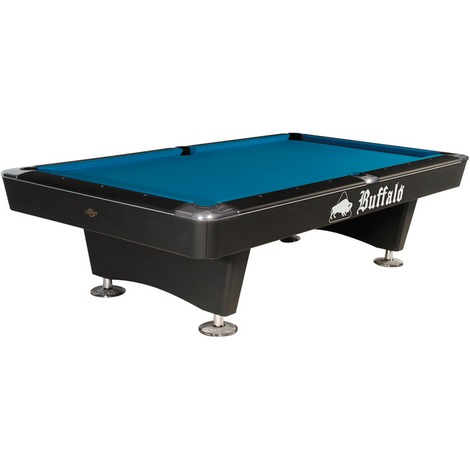 Billard 8-pool - Table de billard 8-pool Buffalo Dominator 8ft noir ou brun NOUVEAU