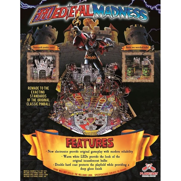 Medieval Madness Remake
