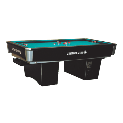 Billard à bouchons - Billiard-golf - Black Magic Star VERHOEVEN