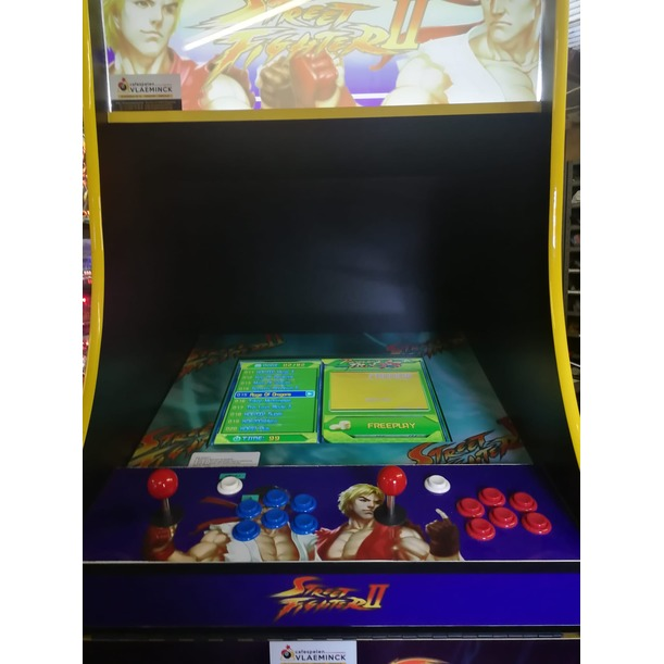 Borne d'Arcade Video Street Fighter II
