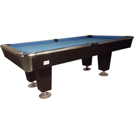 Billard 8-pool - Pooltafel LEXOR Black Knight II 7ft, 8ft of 9ft